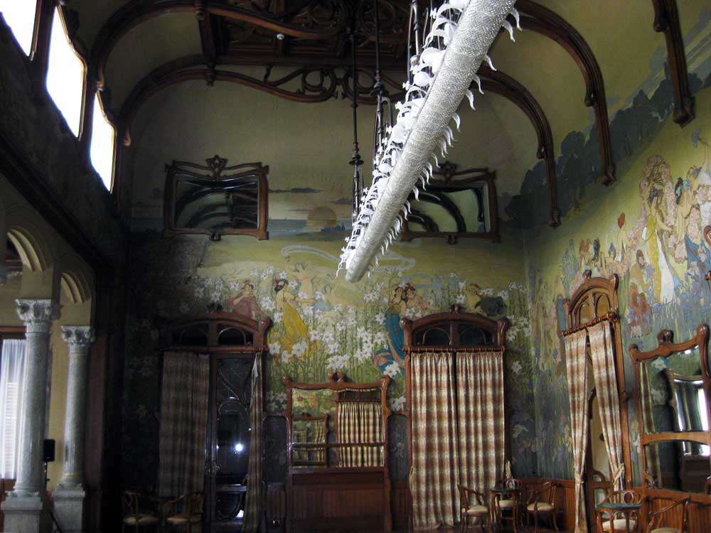 Sala Basile Villa Igea Palermo